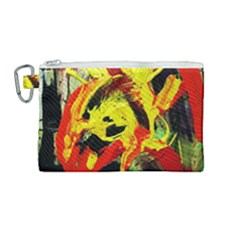 Fish And Bread1/1 Canvas Cosmetic Bag (medium)