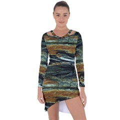 Tree In Highland Park Asymmetric Cut-out Shift Dress by bestdesignintheworld