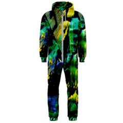 Rumba On A Chad Lake 10 Hooded Jumpsuit (men)  by bestdesignintheworld