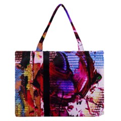 Absurd Theater In And Out 4 Zipper Medium Tote Bag by bestdesignintheworld
