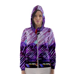 House Will Be Built 10 Hooded Wind Breaker (women) by bestdesignintheworld