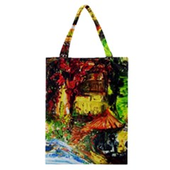 St Barbara Resort Classic Tote Bag by bestdesignintheworld