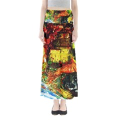 St Barbara Resort Full Length Maxi Skirt by bestdesignintheworld