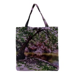 Old Tree 6 Grocery Tote Bag by bestdesignintheworld