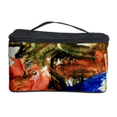 Painting And Letters Cosmetic Storage Case
