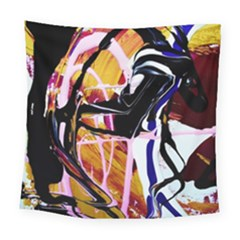 Immediate Attraction 2 Square Tapestry (large) by bestdesignintheworld