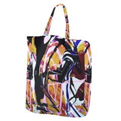 Immediate Attraction 2 Giant Grocery Zipper Tote by bestdesignintheworld