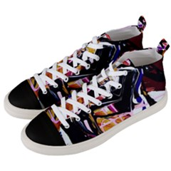 Immediate Attraction 2 Men s Mid Top Canvas Sneakers by bestdesignintheworld