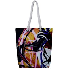 Immediate Attraction 2 Full Print Rope Handle Tote (small) by bestdesignintheworld