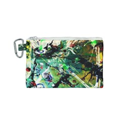 Jealousy   Battle Of Insects 4 Canvas Cosmetic Bag (small) by bestdesignintheworld