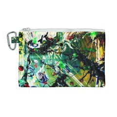 Jealousy   Battle Of Insects 4 Canvas Cosmetic Bag (large) by bestdesignintheworld