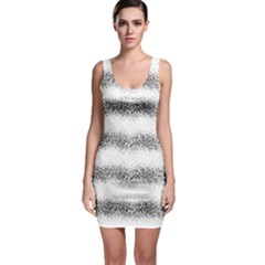 Stripe Black Bodycon Dress by goodart