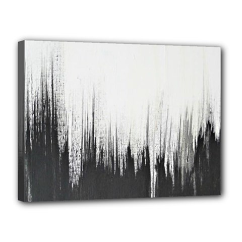 Simple Abstract Art Canvas 16  X 12  by goodart