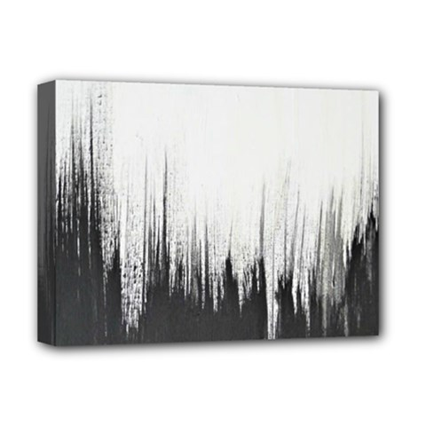 Simple Abstract Art Deluxe Canvas 16  X 12   by goodart