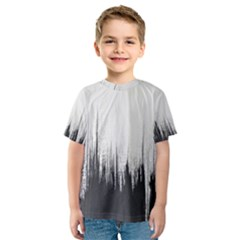 Simple Abstract Art Kids  Sport Mesh Tee by goodart