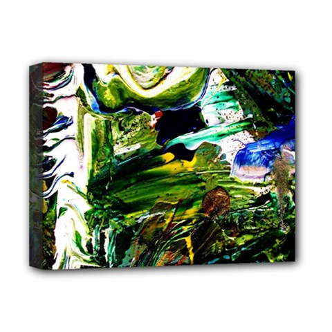 Bow Of Scorpio Before A Butterfly 8 Deluxe Canvas 16  X 12   by bestdesignintheworld