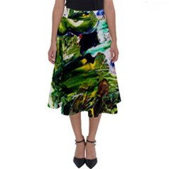 Bow Of Scorpio Before A Butterfly 8 Perfect Length Midi Skirt by bestdesignintheworld