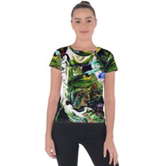 Bow Of Scorpio Before A Butterfly 8 Short Sleeve Sports Top  by bestdesignintheworld