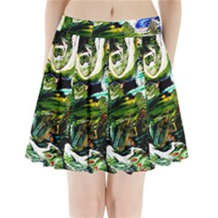 Bow Of Scorpio Before A Butterfly 8 Pleated Mini Skirt by bestdesignintheworld