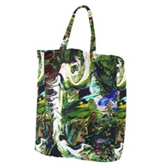 Bow Of Scorpio Before A Butterfly 8 Giant Grocery Zipper Tote by bestdesignintheworld