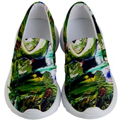 Bow Of Scorpio Before A Butterfly 8 Kid s Lightweight Slip Ons by bestdesignintheworld