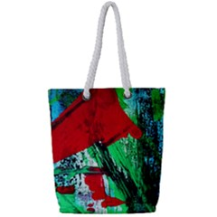 Humidity 5 Full Print Rope Handle Tote (small) by bestdesignintheworld