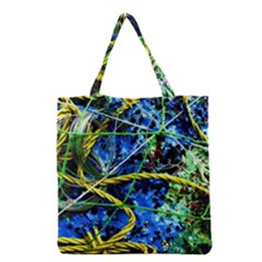 Moment Of The Haos 7 Grocery Tote Bag by bestdesignintheworld