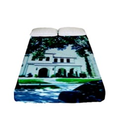 Hot Day In Dallas 16 Fitted Sheet (full/ Double Size) by bestdesignintheworld