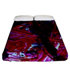 Sacred Knowledge 1 Fitted Sheet (king Size) by bestdesignintheworld