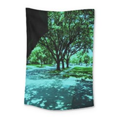 Hot Day In Dallas 5 Small Tapestry by bestdesignintheworld
