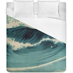 Waves Painting Duvet Cover (california King Size) by goodart