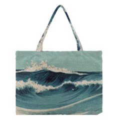 Waves Painting Medium Tote Bag by goodart
