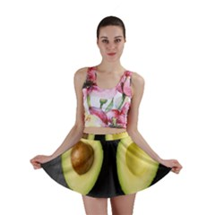 Fruit Avocado Mini Skirt