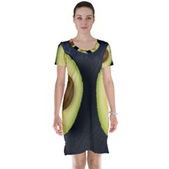 Fruit Avocado Short Sleeve Nightdress by goodart