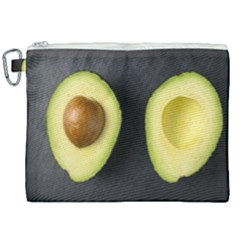 Fruit Avocado Canvas Cosmetic Bag (xxl) by goodart
