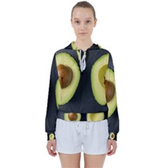 Fruit Avocado Women s Tie Up Sweat