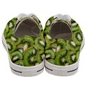 Sliced And Open Kiwi Fruit Women s Low Top Canvas Sneakers View4