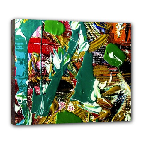 Oasis Deluxe Canvas 24  X 20   by bestdesignintheworld