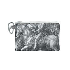 Death And The Devil   Albrecht Dürer Canvas Cosmetic Bag (small) by Valentinaart