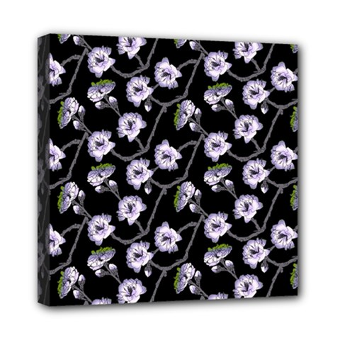 Floral Pattern Black Purple Multi Function Bag	 by goodart