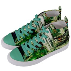 Gatchina Park 3 Women s Mid Top Canvas Sneakers by bestdesignintheworld