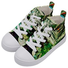 Gatchina Park 3 Kid s Mid Top Canvas Sneakers by bestdesignintheworld