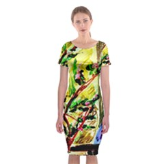 House Will Be Buit 4 Classic Short Sleeve Midi Dress