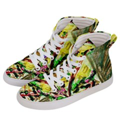 House Will Be Buit 4 Men s Hi Top Skate Sneakers by bestdesignintheworld