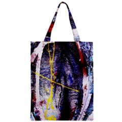 Egg In The Duck   Needle In The Egg 7 Zipper Classic Tote Bag by bestdesignintheworld