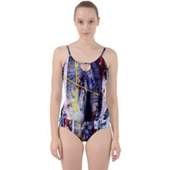 Egg In The Duck   Needle In The Egg 7 Cut Out Top Tankini Set