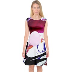 Immediate Attraction 8 Capsleeve Midi Dress