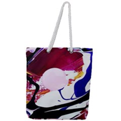 Immediate Attraction 8 Full Print Rope Handle Tote (large) by bestdesignintheworld