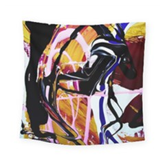 Immediate Attraction 2 Square Tapestry (small) by bestdesignintheworld
