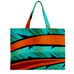 Abstract Art Artistic Zipper Mini Tote Bag by Modern2018